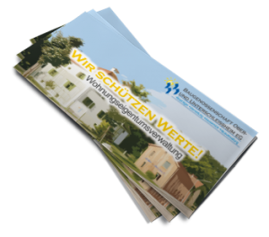 WEG Info Broschüre