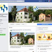 Baugenossenschaft goes Facebook